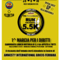 REGISTRATIONS ARE OPEN TO: RUN FOR RIGHTS 5.5K