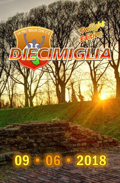 DIECIMIGLIA 2018 TWILIGHT EDITIONDIECIMIGLIA 16,0394 Km QUATTROMIGLIA Run
